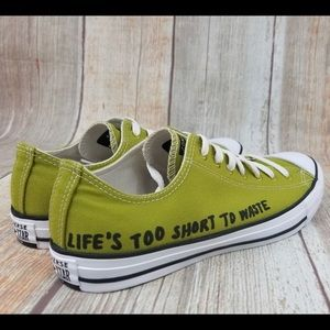 "NEW!  Converse Renew ""Life's Too Short"" Size 9"